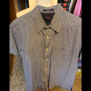 Tommy Jeans Short Sleeve Button Down Shirt M22
